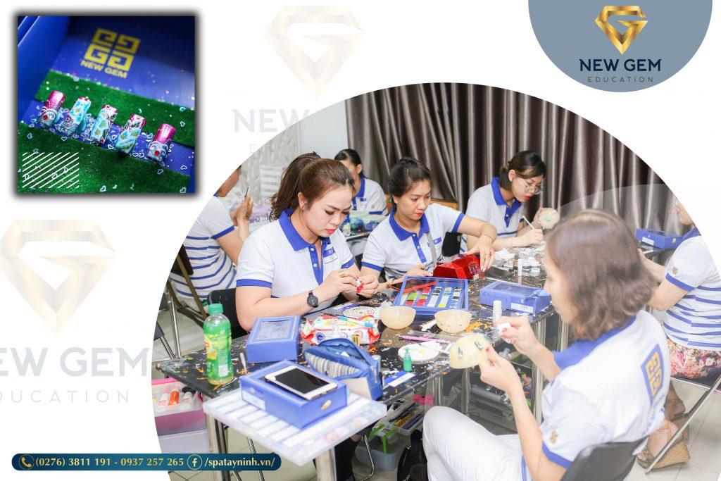 nơi học nail uy tín tại Tây Ninh 02