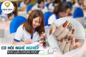 cơ hội nghề nghiệp khi lựa chọn học nail 03