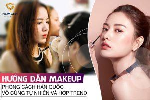 makeup phong cách Hàn Quốc 02